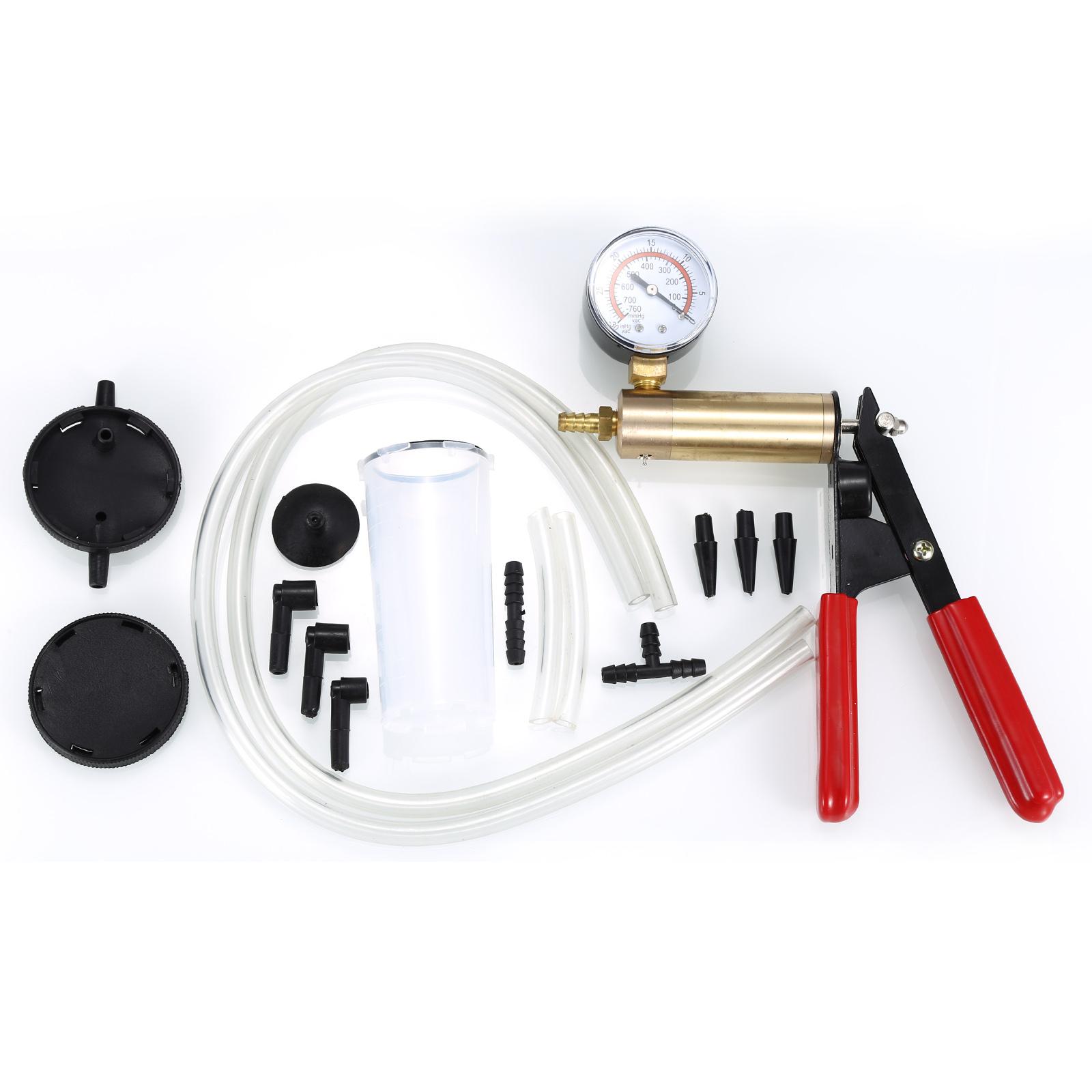 pompe d pression appareil de purge manuelle pompe vide voitures automobiles ebay. Black Bedroom Furniture Sets. Home Design Ideas