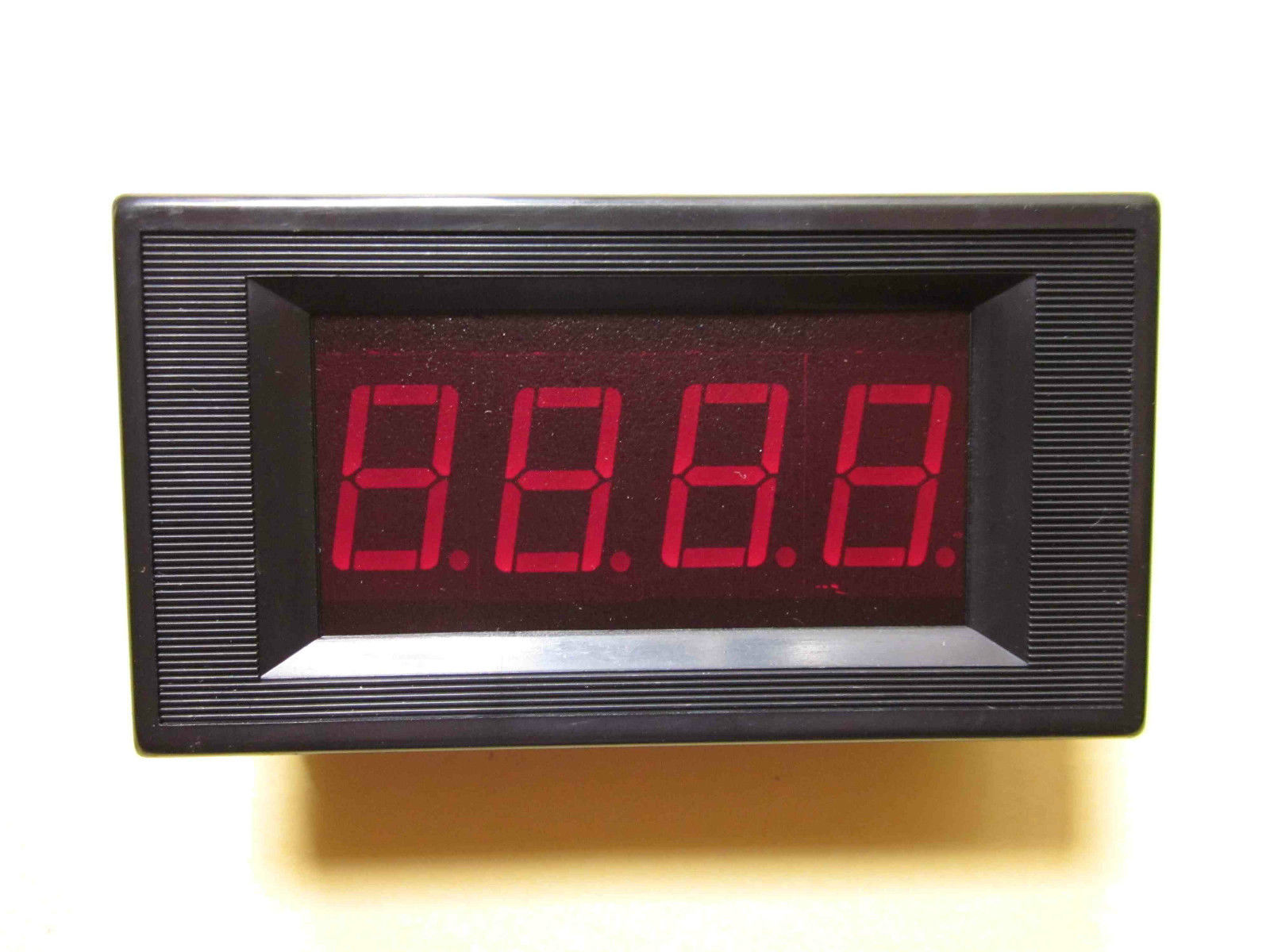 new 0 200a red led dc digital panel ammeter 200a amp. Black Bedroom Furniture Sets. Home Design Ideas