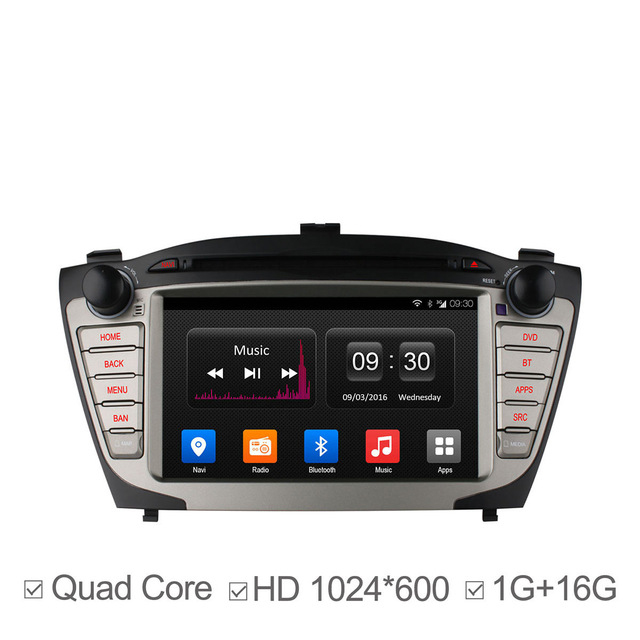 car dvd gps radio bt mirror link dab for hyundai ix35