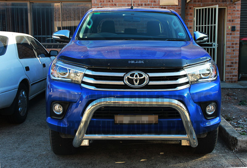 3 Quot Stainless Steel Nudge Bar Grille Guard To Suit Toyota