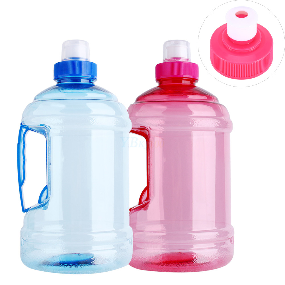 1l big large bpa free training drink water bottle cap. Black Bedroom Furniture Sets. Home Design Ideas