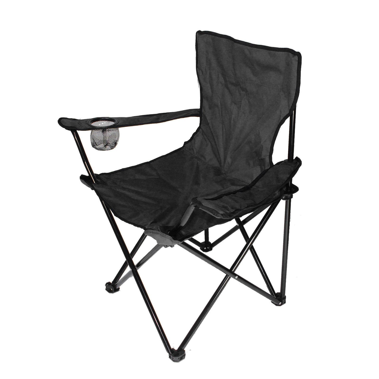 Noir chaise camping housse pliante fauteuil pliable siege de plage tissu oxfo - Housse fauteuil main ...