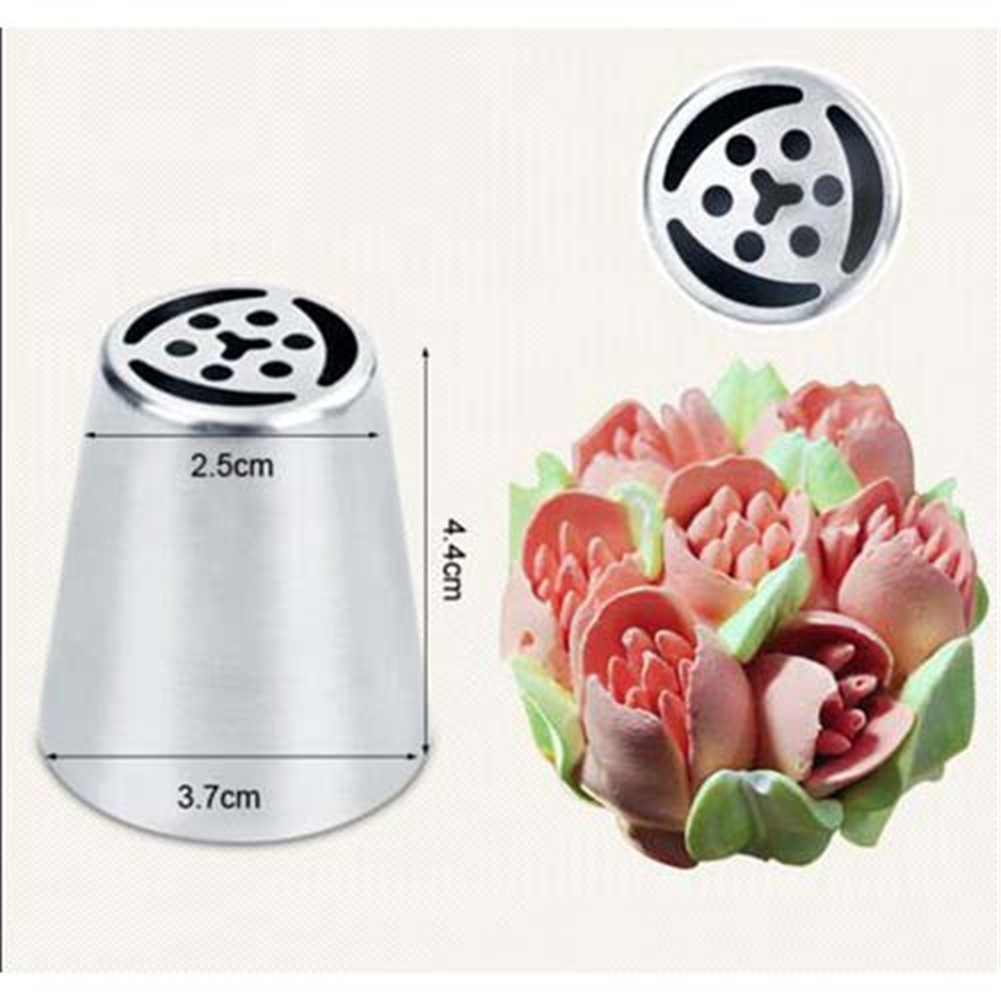 Best Cake Decorating Nozzles : 7Pcs Russian Tulip Flower Cake Icing Piping Nozzles ...