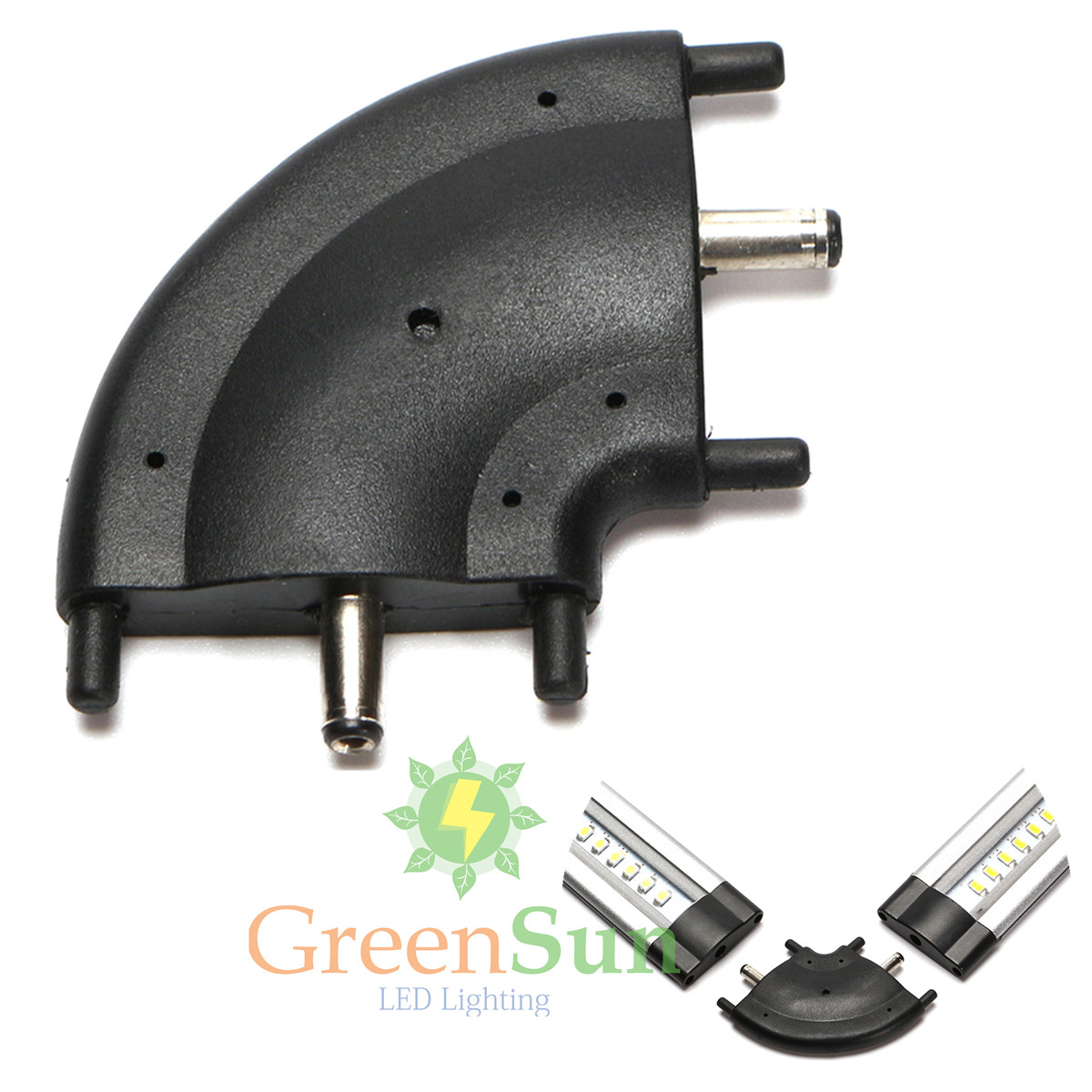 30/50CM LED Under Cabinet Light/Power Adapter/Connector