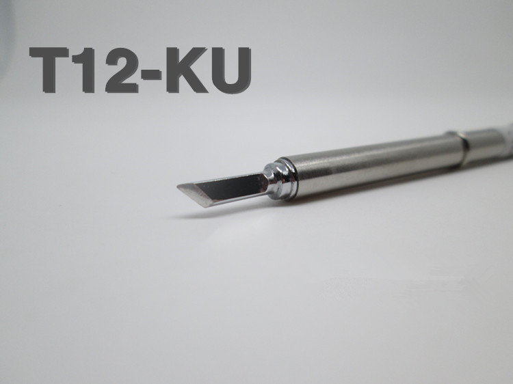 replace soldering solder iron tip for hakko t12 ku shape ku pcb repair new. Black Bedroom Furniture Sets. Home Design Ideas