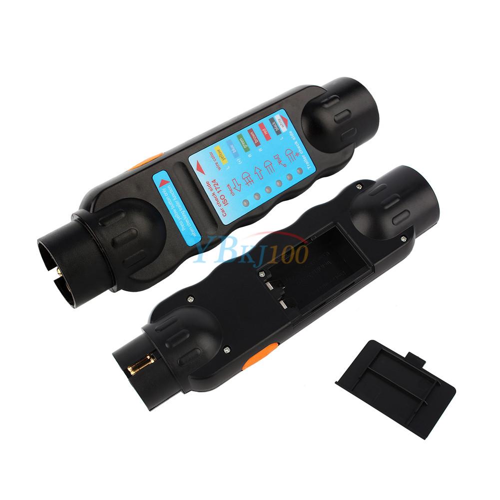 Plug In Circuit Tester : Pin towing trailer tow bar led light lamp wiring circuit