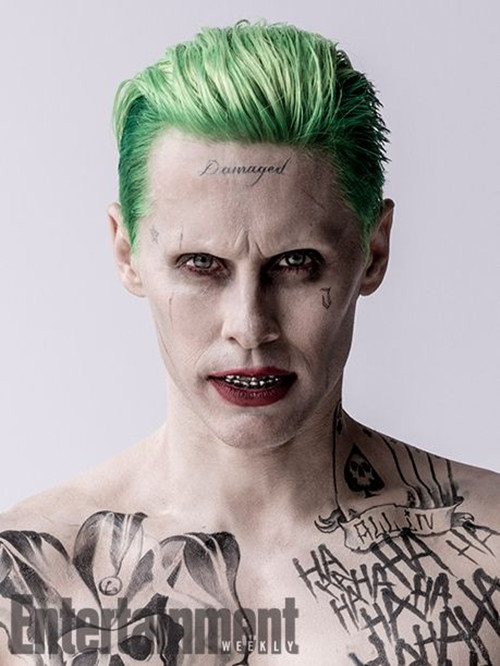 Suicide Squad Joker Costume Tattoo Kit Makeup Halloween