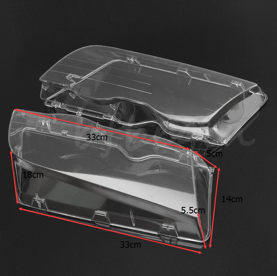 Clear Headlight Headlamp Cover Lens Head Lights 2001 2004