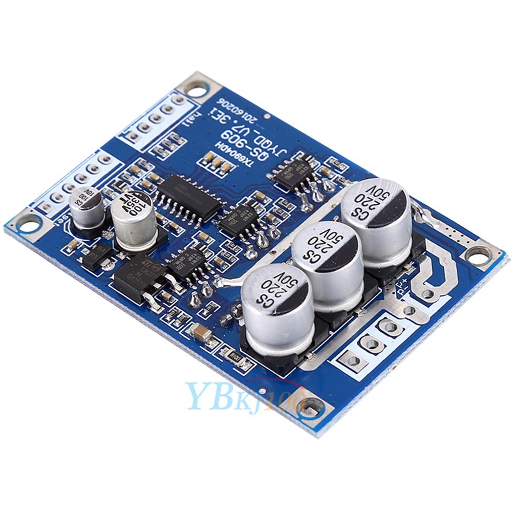 Dc 12v 36v 500w brushless motor controller hall balanced for 12v 500w dc motor