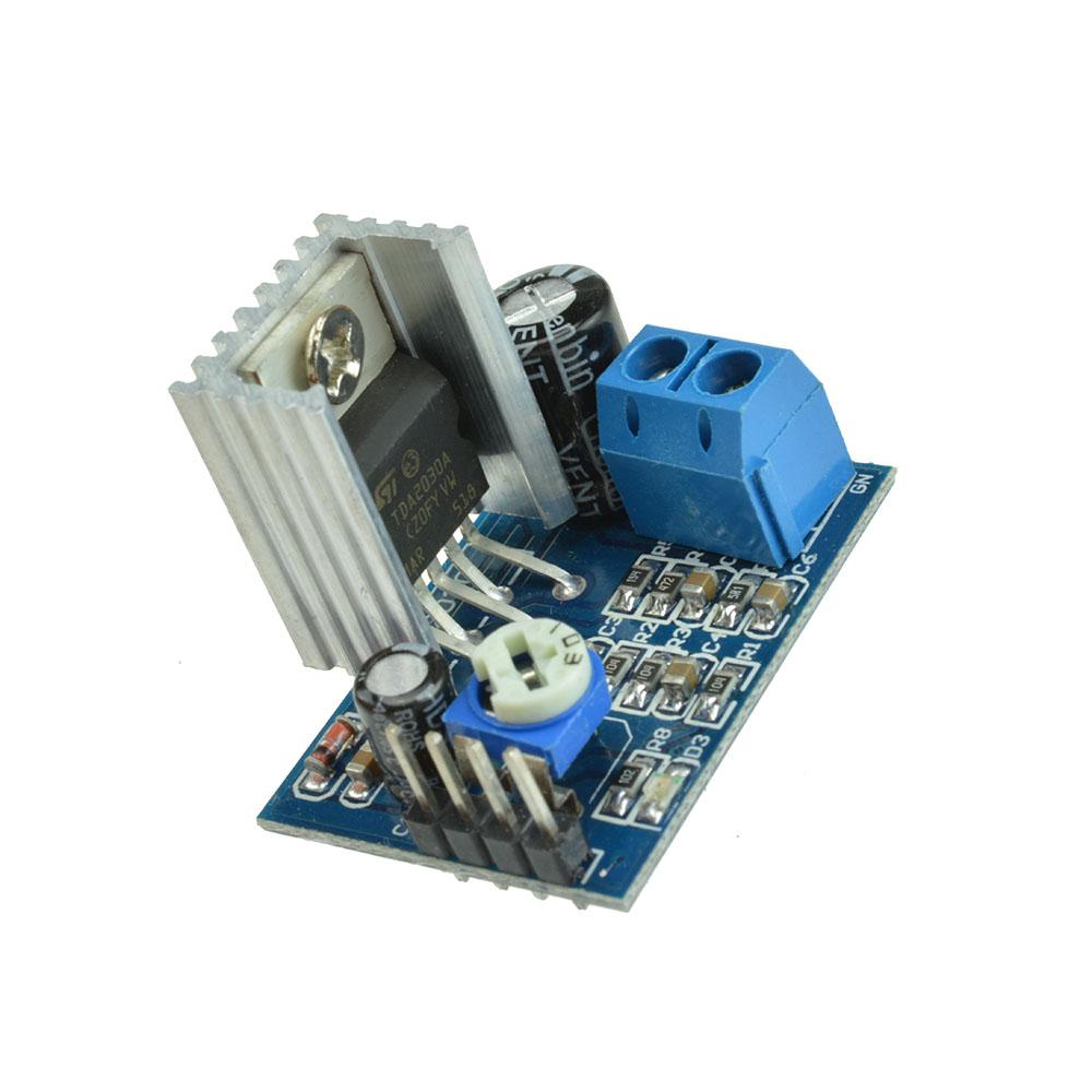 Power Supply TDA2030 Audio Amplifier Board Module TDA2030A ...