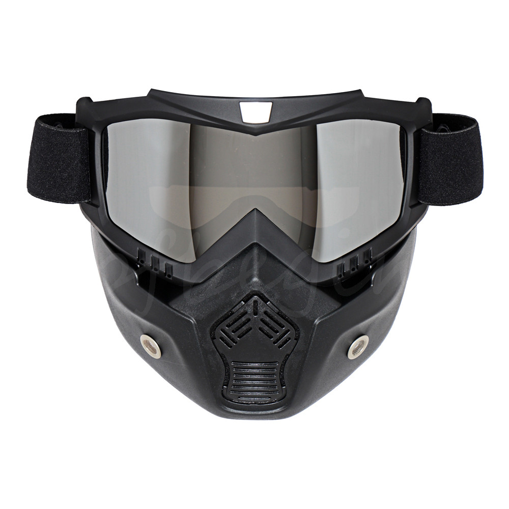 Motorcycle Anti Fog Riding Ski Scooter Goggle Helmet Face