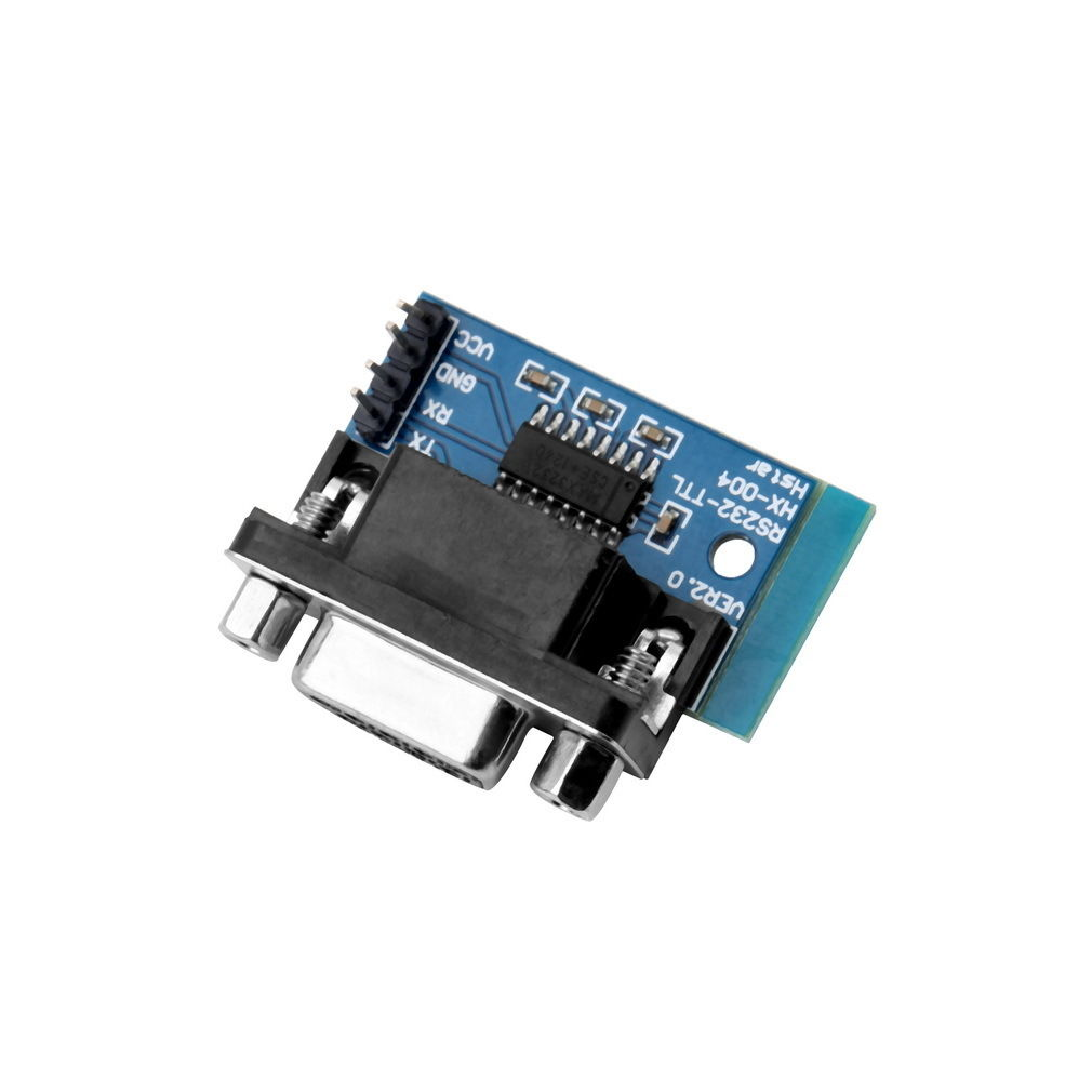 10pcs Max3232 Rs232 To Ttl Serial Port Converter Module Db9 By Max232 Connector Wc