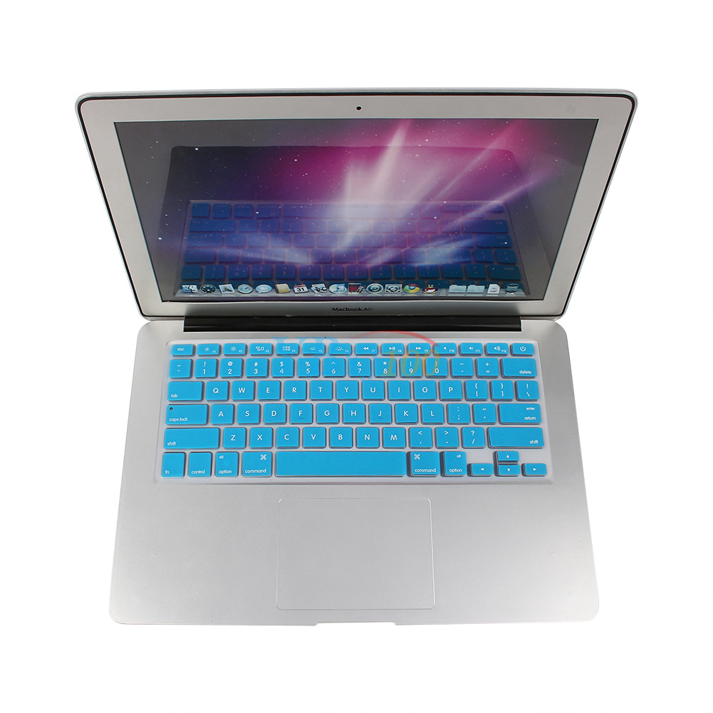 us eu thin silicone keyboard skin cover for macbook air mac 13 15 17 ebay. Black Bedroom Furniture Sets. Home Design Ideas