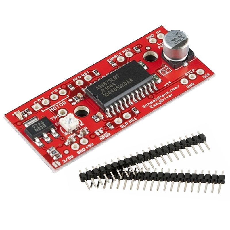 Arduino Stepper Motor Control, Using Pololu Driver