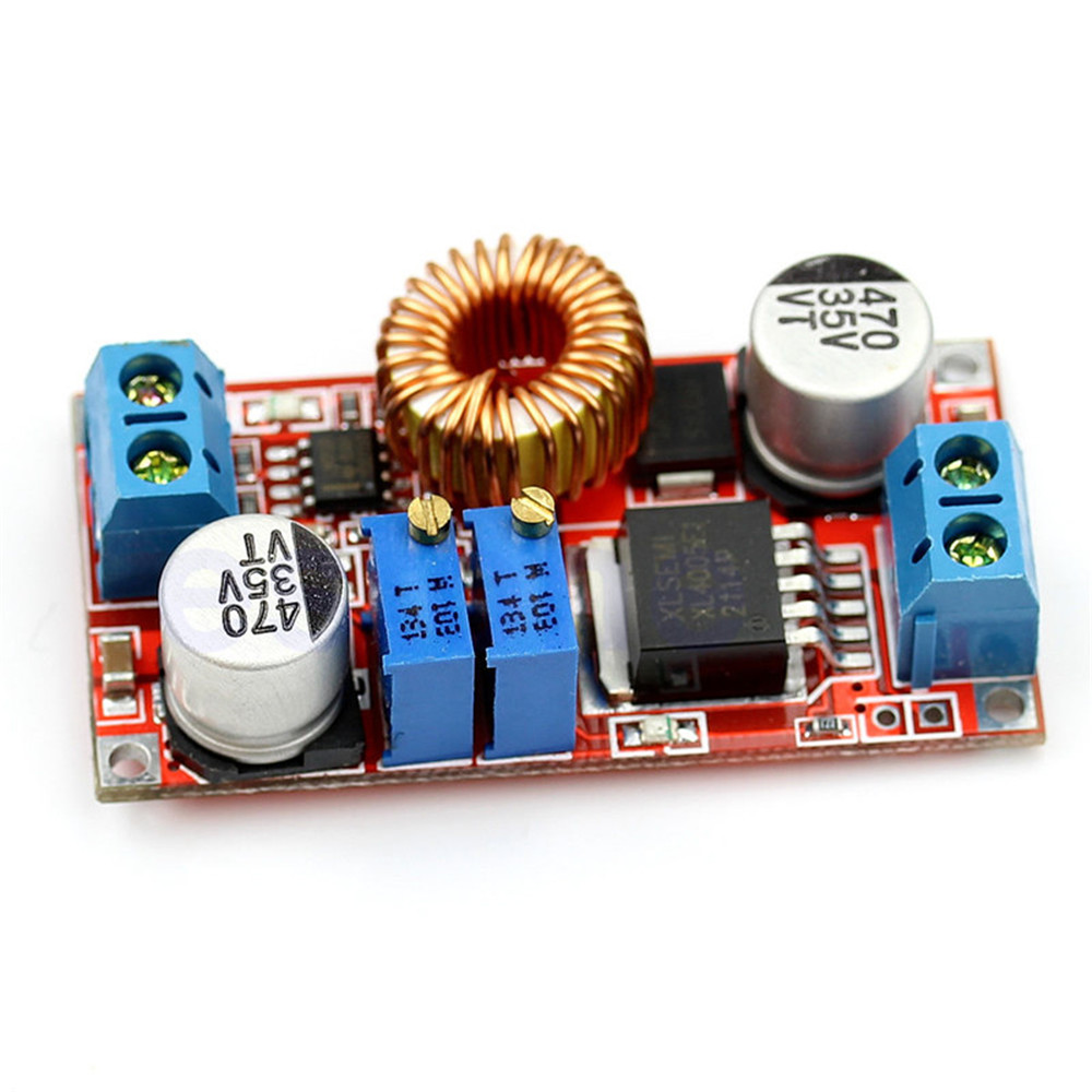 5a Xl4015 Dc Step Down Buck Converter Module Power Supply Led To 5v 30v Lithium Charger