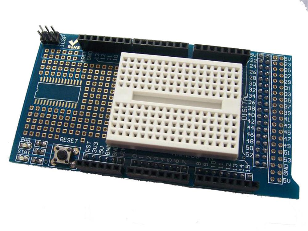 Prototype mit mini shield protoshield v breadboard for