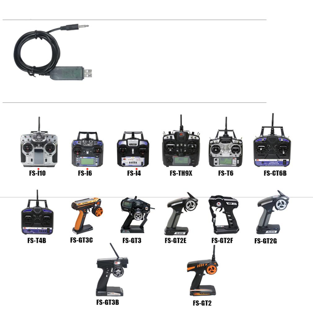 flysky 1024 simulator usb cable fs