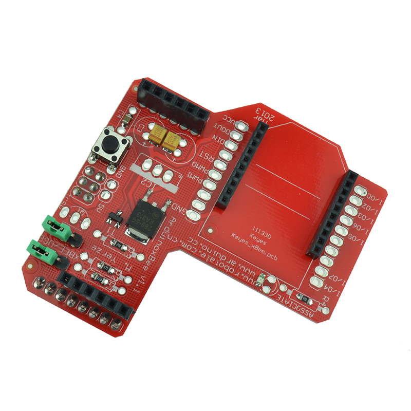 Xbee zigbee shield rf module for arduino uno duemilanove