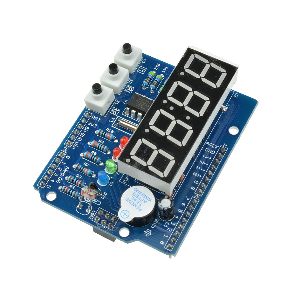 Real time clock shield digital tube module thermal rtc