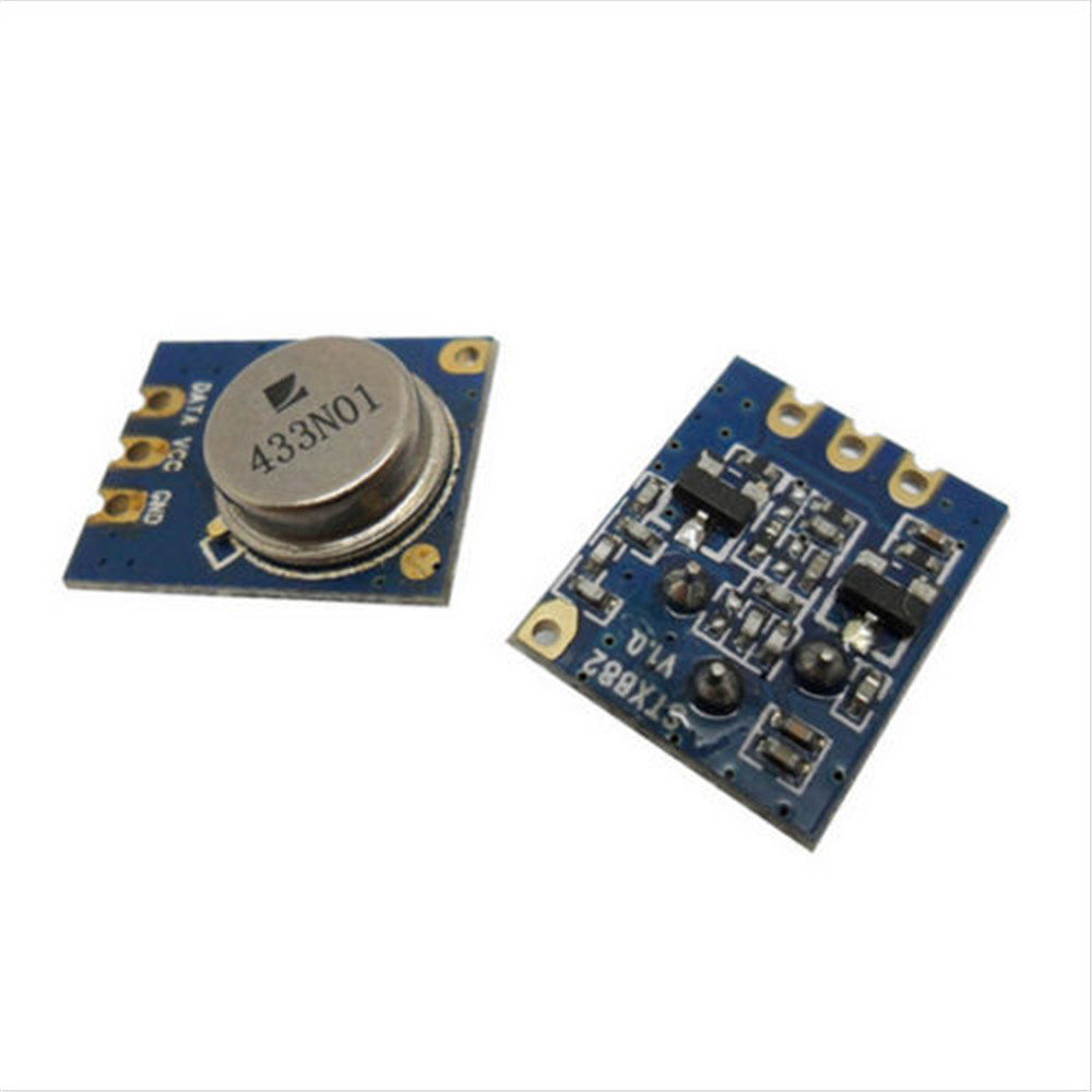 how to build rf transmitter and receiver