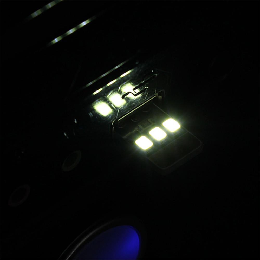 10pcs Card Lamp Bulb Led Keychain Mini Led Night Light