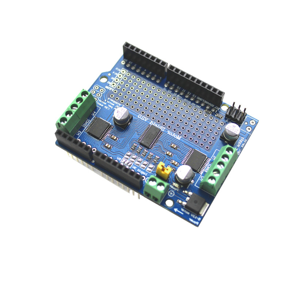 I2c tb6612 stepper motor pca9685 servo driver shield v2 fr for Arduino servo motor shield