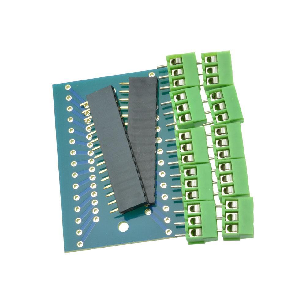 Expansion board terminal adapter diy kits for arduino nano