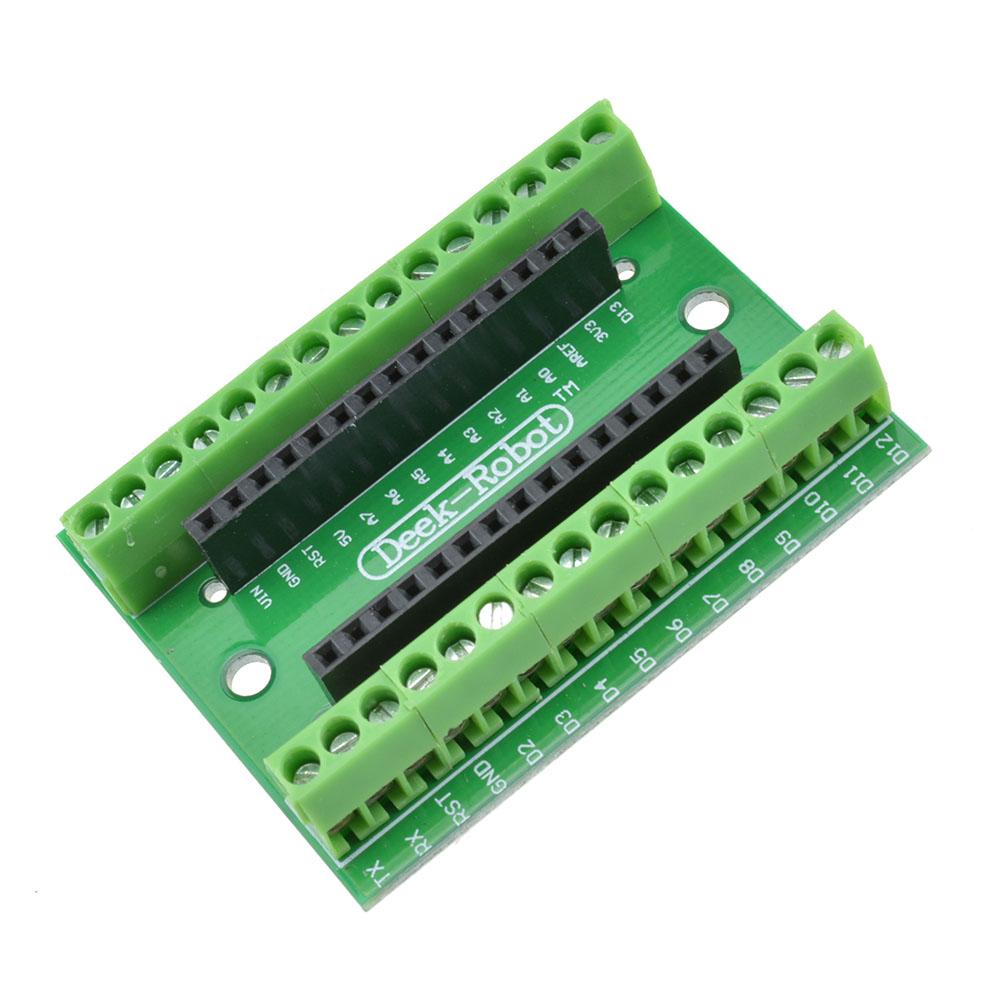 Nano terminal adapter for arduino v avr atmega p