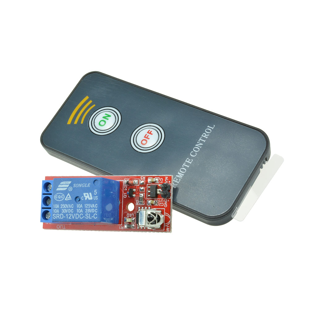 1 Channel Infrared Switch Relay Driving Module Board 12v