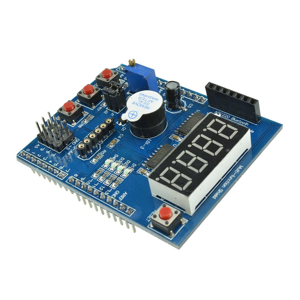 For arduino multi function shield protoshield