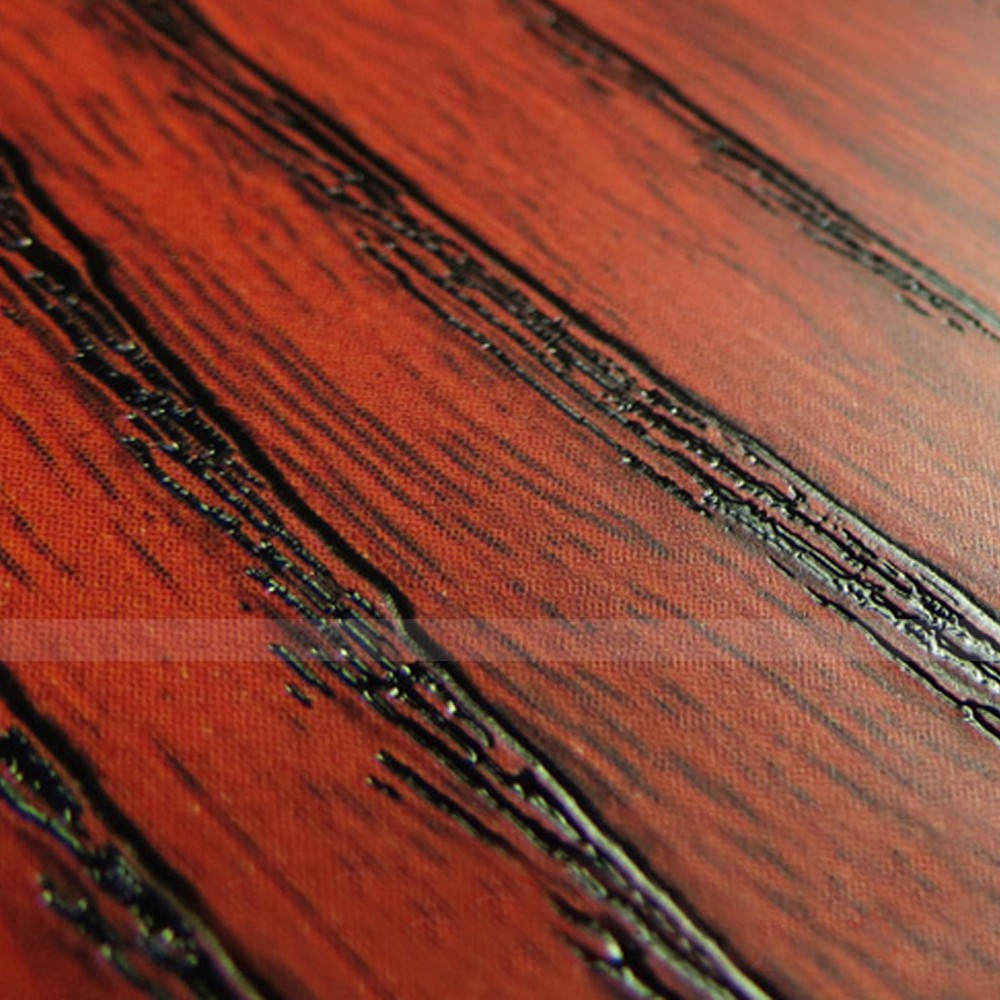 Red Wood Grain Contact Paper Self Adhesive Wall Sticker