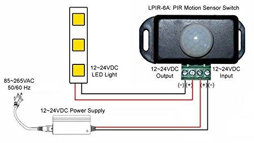Wiring Diagram Motion Sensor Light