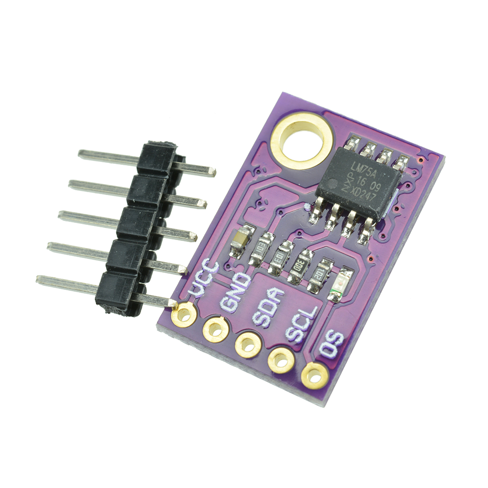 Details about LM75A Temperature Sensor High-speed I2C Interface Development  Board Fit Arduino