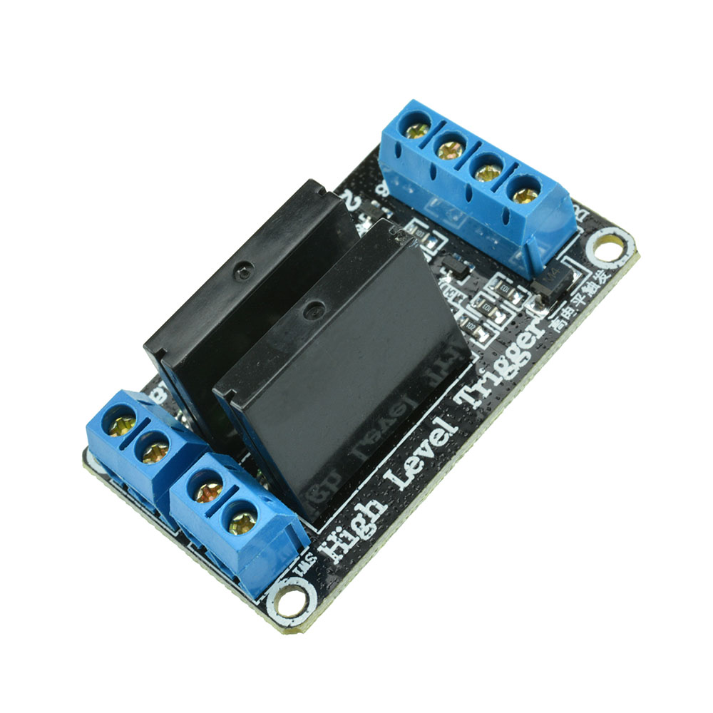 V dc channel solid state relay board module high level