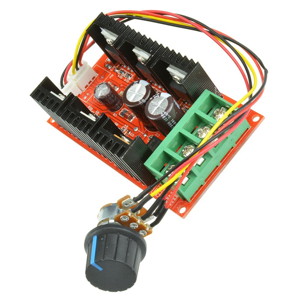 9 50v 40a Dc Motor Speed Control Pwm Hho Rc Controller 12v