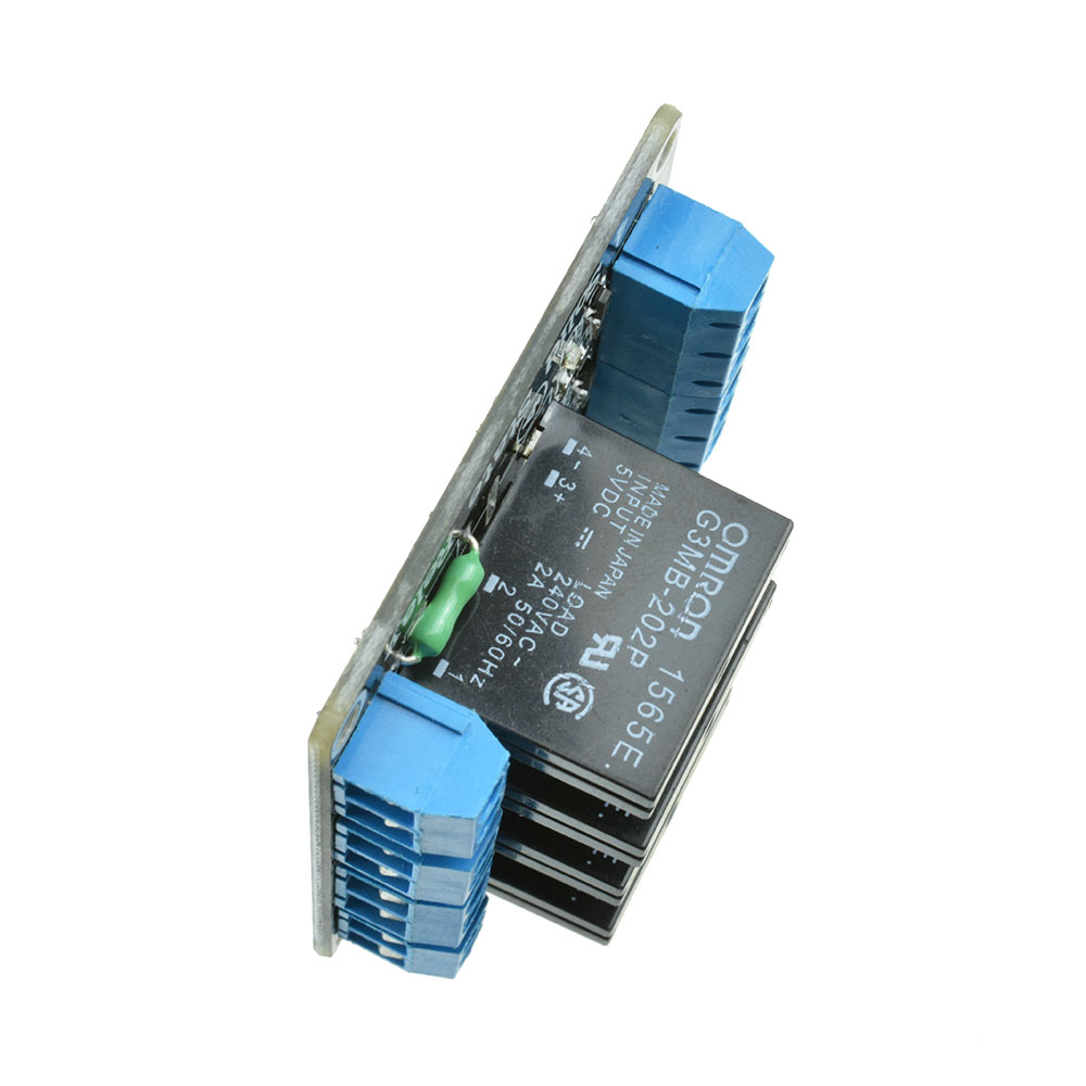 V channel ssr solid state relay module with fuse for