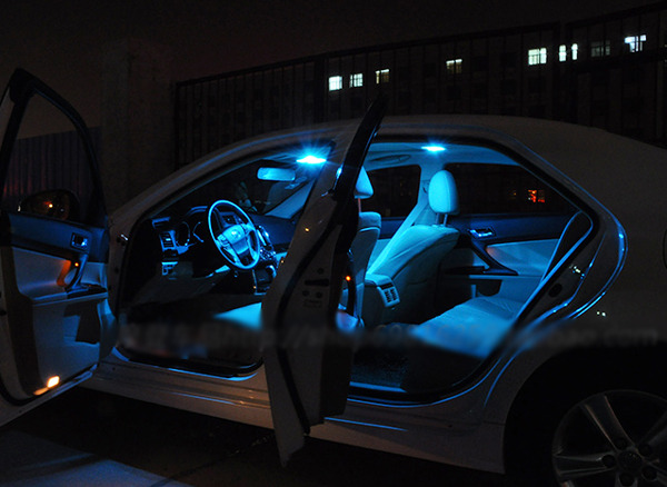 11pcs ice blue smd led interior plate lights package kit for acura tl 2004 2008 ebay 2004 acura tl led interior lights