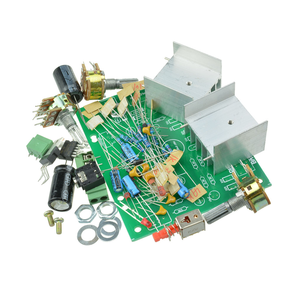 2 Channel 20 15w Audio Tda2030a Hifi Module Stereo Amplifier Amp Kits Subwoofer Circuit Board For Diy Kit
