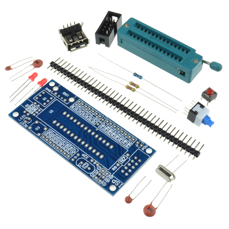 Atmega8 Atmega48 Atmega88 Development Board Avr No Chip S Ebay Electronic Components Integrated Circuitsicsicchina Mainland