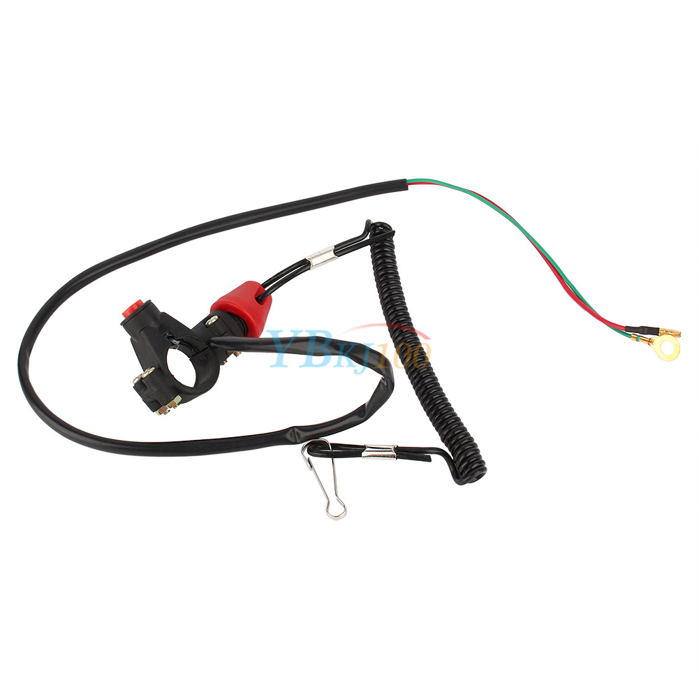 Lawn Mower Air Filter Part 581 988s : Motorcycle engine stop kill tether switch lanyard for atv