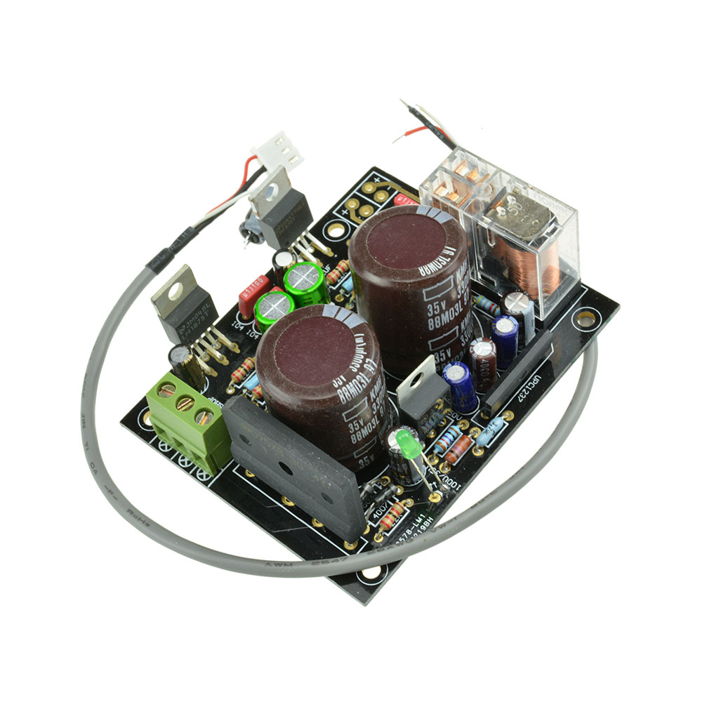 Lm1875 Stereo Amplifier Diy Kits Board With Speaker Protection 25w 20w Audio Using Assembled 8ohm New
