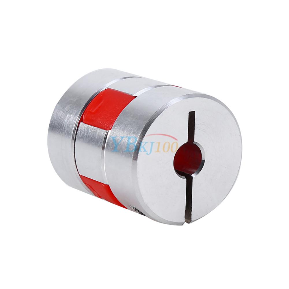 Flexible plum shaft coupling cnc stepper motor encoder for Stepper motor shaft coupling coupler