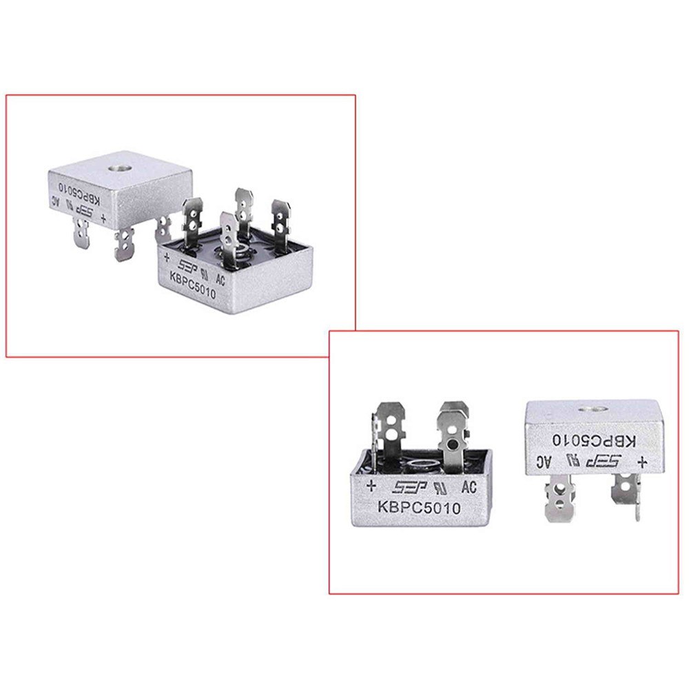 10pcs 250a 1000v Metal Case Single Phases Diode Bridge Rectifier Circuit Diagram In Addition Kbpc5010