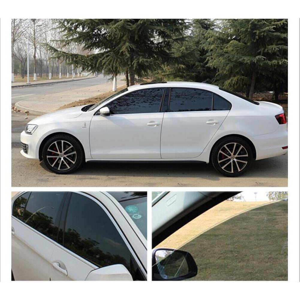 Car black car home glass window tint film and shade roll for 2 5 window tint