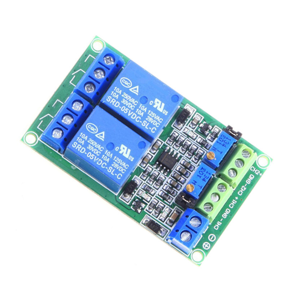Unique Dc 5v 2 Channel Voltage Comparator Precise Lm393 Board Module How To Build A Circuit Using An