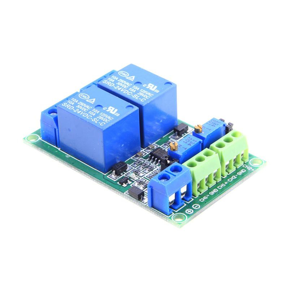 1 2 4 Channel Dc 5v 12v 24v Voltage Comparator Lm393 How To Build A Circuit Using An Module