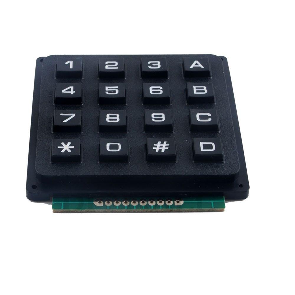 4 X 4 Matrix Array 16 Keys 4 4 Switch Keypad Keyboard