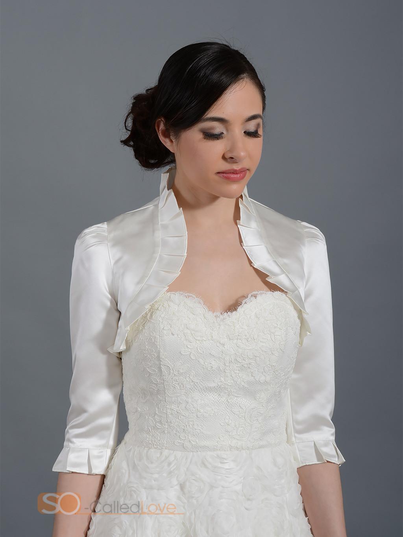 womens jacket wedding bridal mother dress satin bolero shrug stole tippet wrap ebay. Black Bedroom Furniture Sets. Home Design Ideas