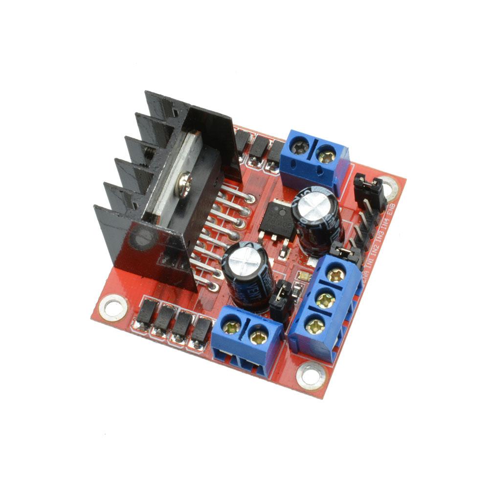 25w l298n dual h bridge dc stepper motor l298n drive for Dc servo motor controller