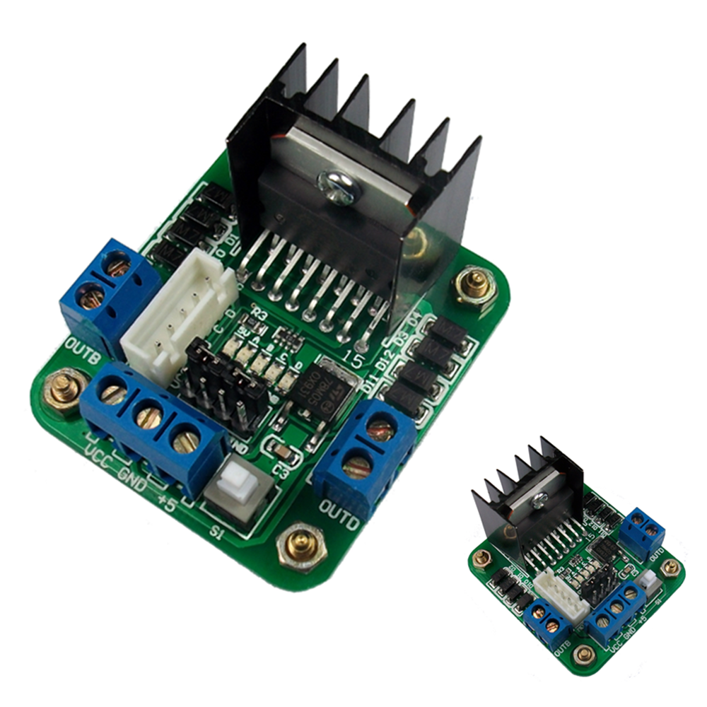 Control DC and Stepper Motors With L298N Dual Motor